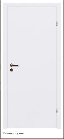 Дверь финка белая