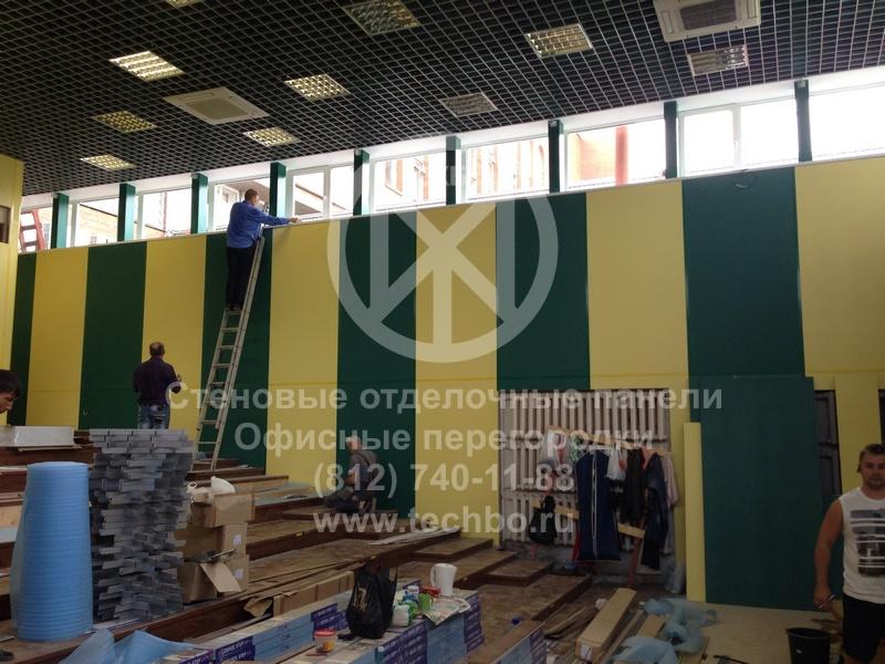 Ремонт учебных заведений | гипсоакриловые панели