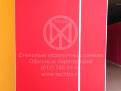 Перегородки в ТЦ | гипсоакриловые панели