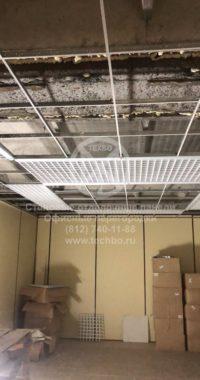 Отделка стен в магазине   ламинированный гипсокартон