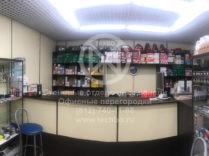 Отделка стен в магазине | ламинированный гипсокартон