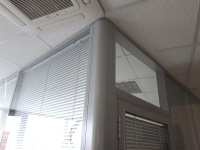 офисные перегородки, алюминиевые перегородки