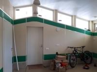 Отделка гаража внутри, СМЛ окрашенный