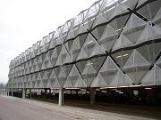 Фасады зданий из перфорации, стеновые панели из перфолиста