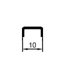 алюминиевый омега профиль для панелей